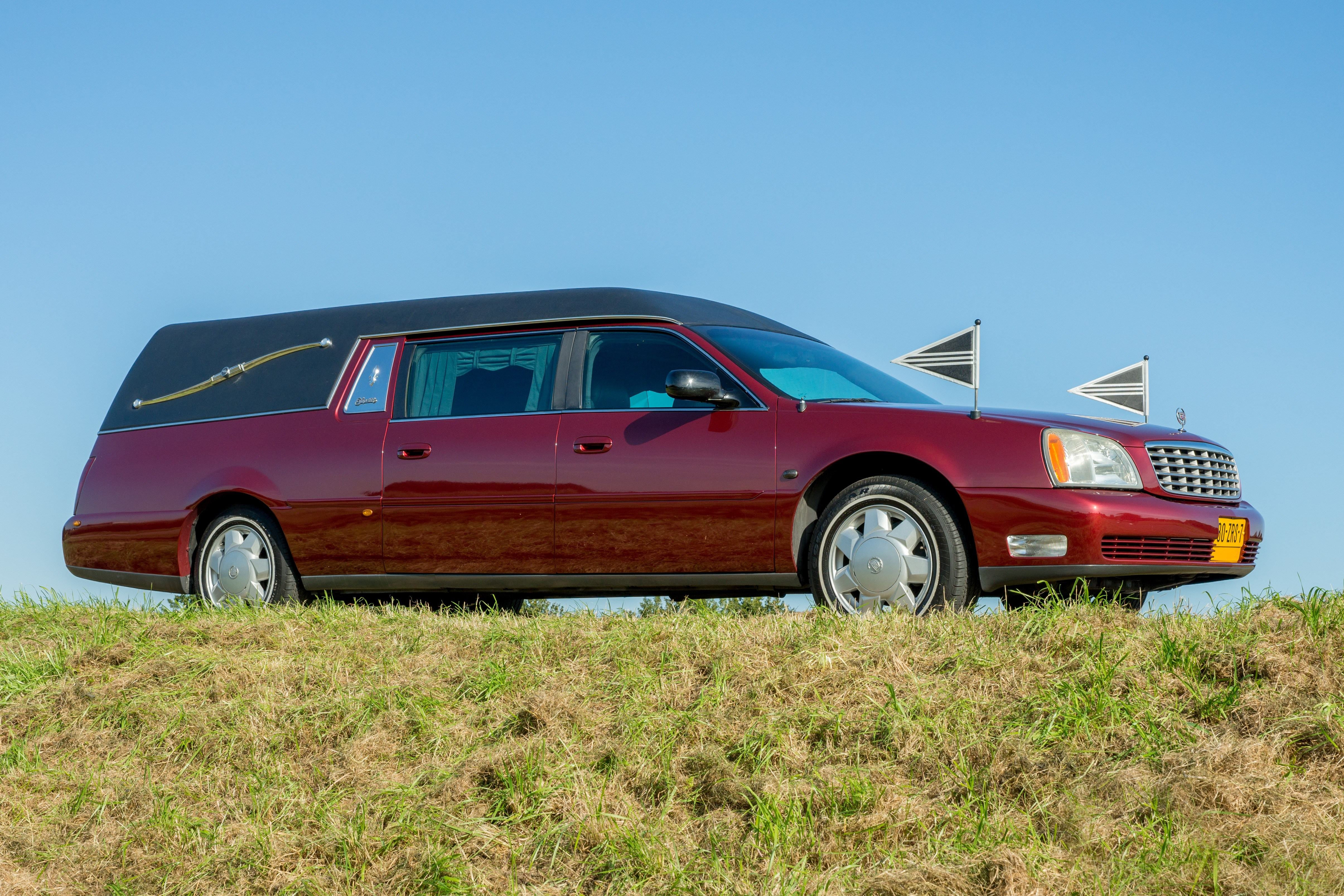 Cadillac rood